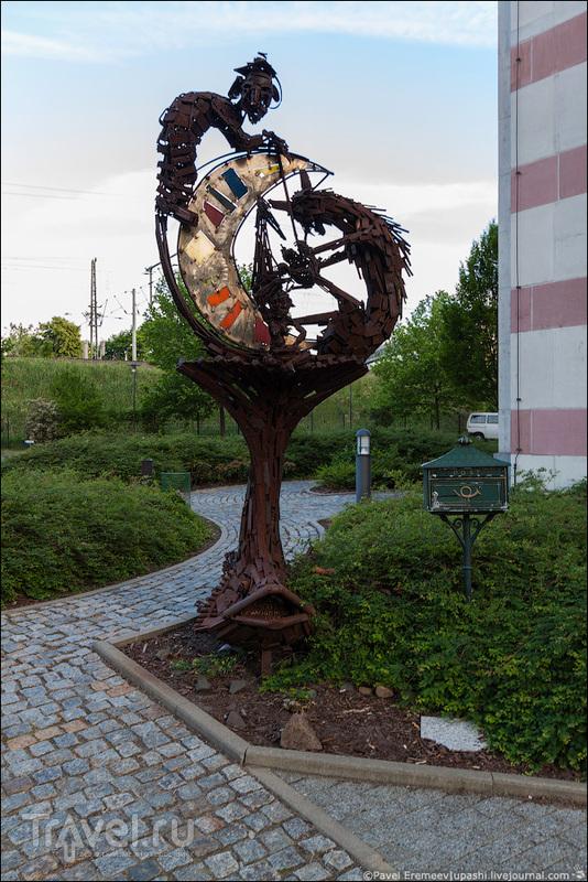 Дрезден: Йенидце (нем. Yenidze) / Германия
