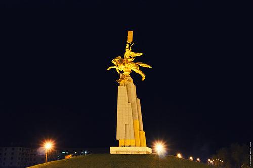 Элиста - дочь калмыцких степей / Россия
