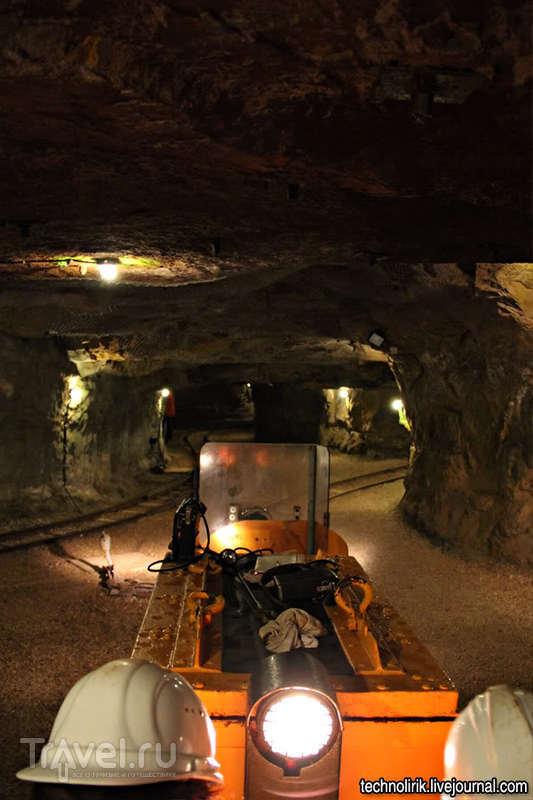 Бывшая шахта по добыче железной руды в Аалене / Германия