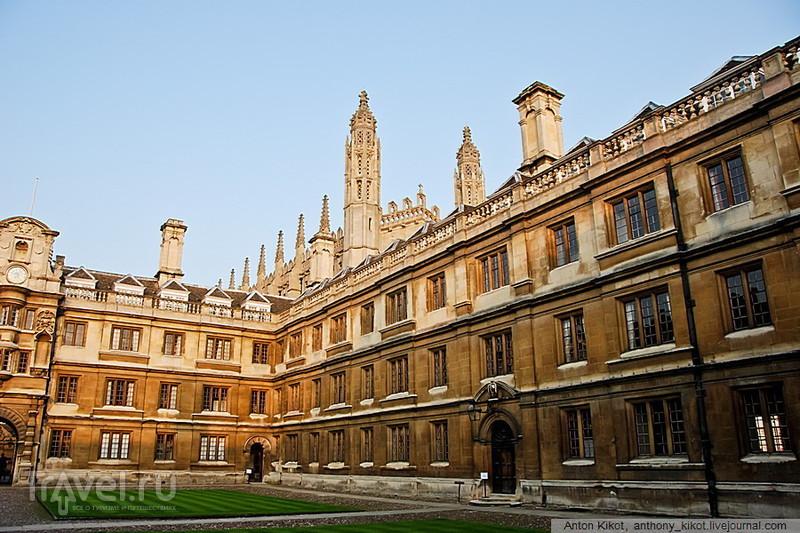 Проездом в Англии: Альтернативный Кембридж / Великобритания