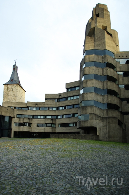 Бетонное творчество архитектора Бёма / Германия