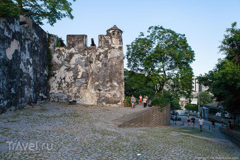 Горная крепость в Макао / Фото из Макао