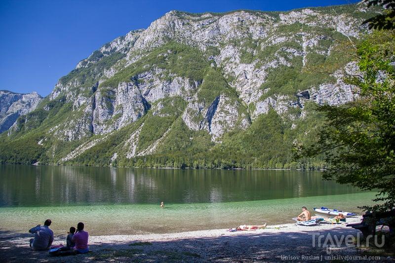 Словения: озеро Бохинь - полный релакс / Словения