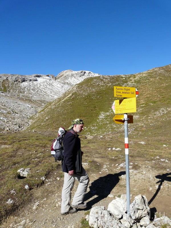 Piz Sugronda. 3126 метров. Швейцария. Осеннее восхождение на трехтысячник / Швейцария