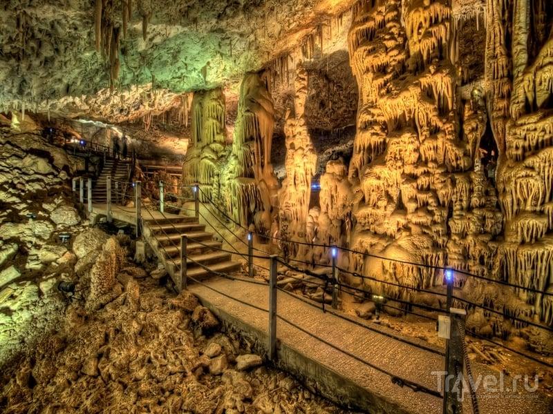 Пещера Авшалом была открыта для широкой публики в 1975 году / Израиль