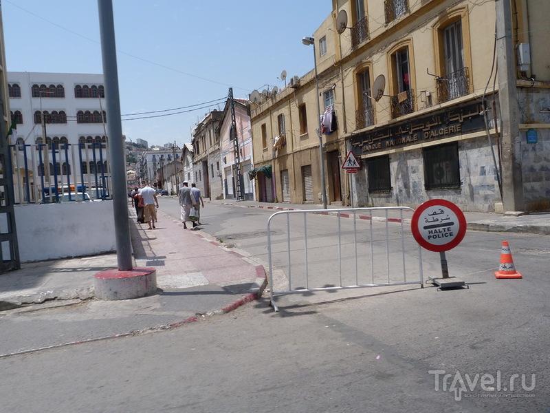 Алжир из окна автомобиля / Алжир