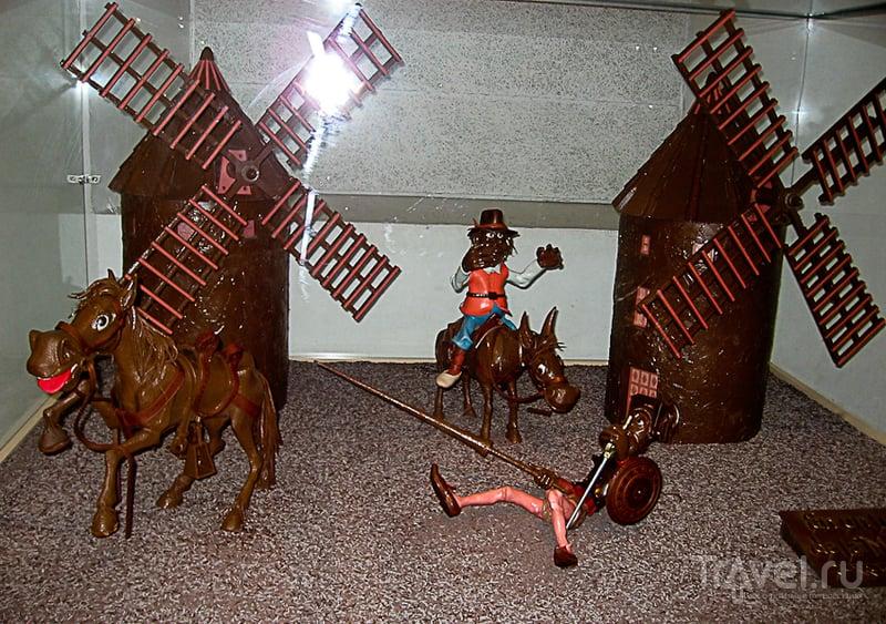 Музей шоколада в Барселоне / Испания