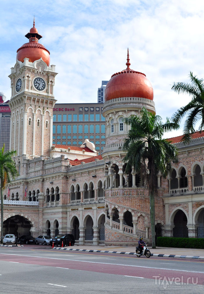 Здание дворца султана Абдул-Самада, Куала-Лумпур / Фото из Малайзии