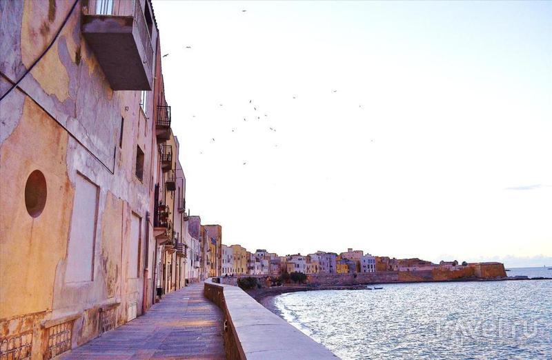 Старинный Трапани как ворота Италии в Тунис / Фото из Италии