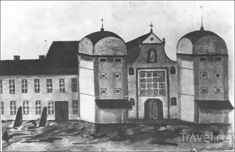 Вдогонку про архитектуру Несвижа / Белоруссия