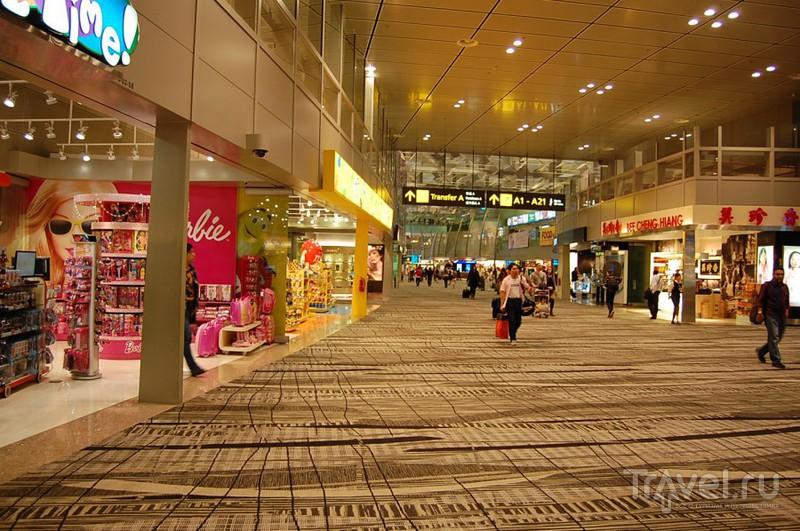 Сингапур. Аэропорт Чанги / Сингапур