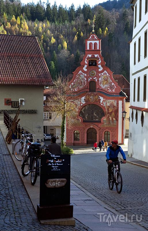 Церковь Святого Духа в Фюссене, Германия / Фото из Германии