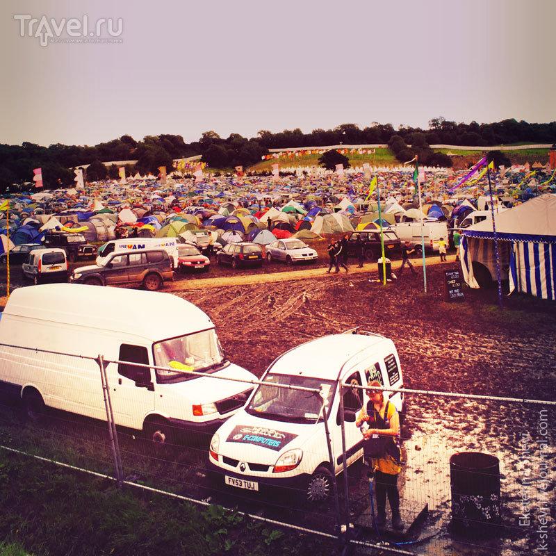 Glastonbury Festival. Гластонбери фестиваль / Великобритания