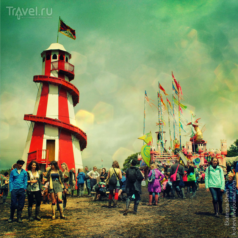 Glastonbury Festival. Гластонбери фестиваль / Великобритания