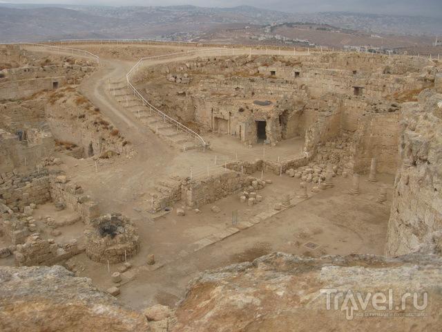 Иродион. Дворец внутри рукотворной горы / Израиль