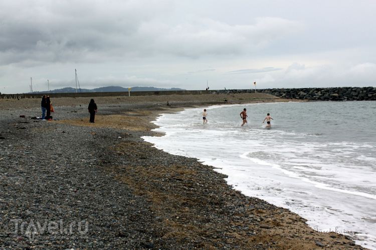 Брей в холодном августе / Ирландия