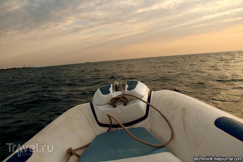 """Севший на мель сухогруз """"Ибрагим-Яким"""" вблизи мыса Тарханкут / Украина"""