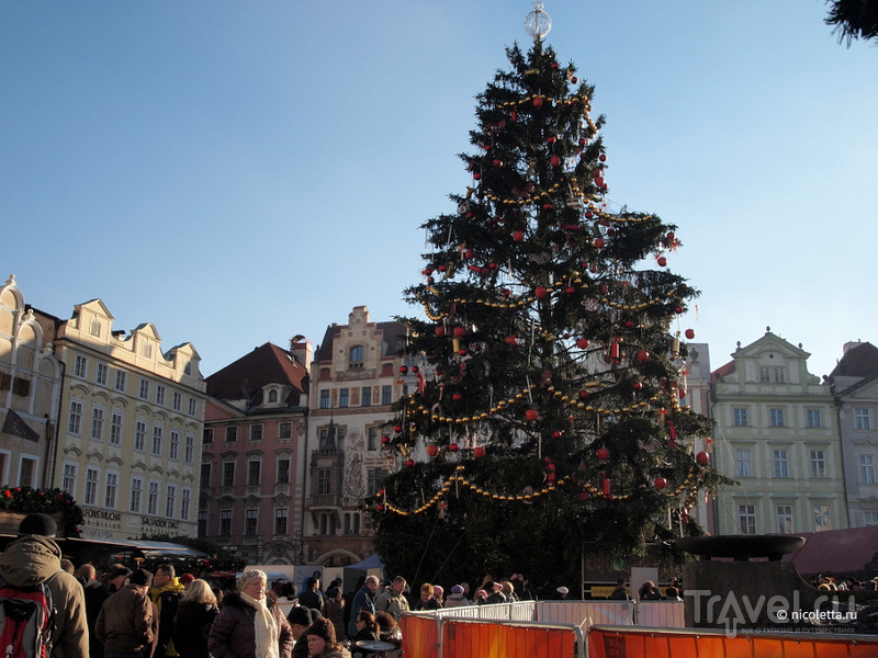 Рождественская ярмарка в Праге 2012 / Чехия
