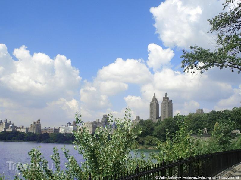 Центральный парк Нью-Йорка / США