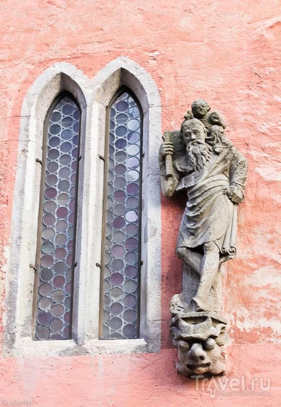 Европейские каникулы. Сказочный Rothenburg ob der Tauber (детали) / Германия
