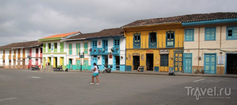 Городок Саленто. Колумбия / Колумбия