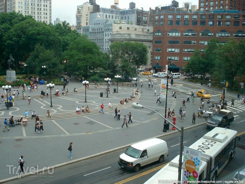 """Манхеттен - """"сердце"""" Нью-Йорка / США"""
