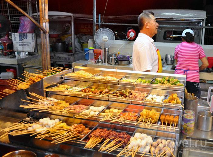 На Red Market, Джорджтаун / Фото из Малайзии