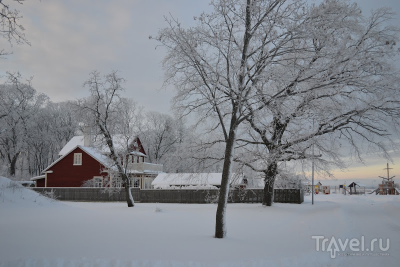 Зимний Хаапсалу, Эстония / Эстония