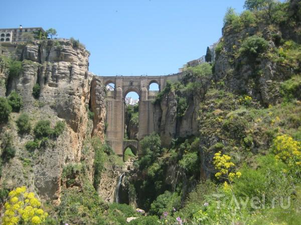 Ронда: мосты и арена для боя быков / Испания