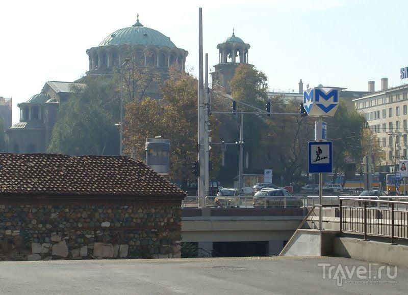 Метро в Софии / Фото из