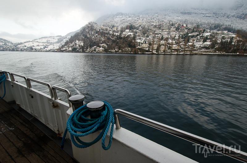 Швейцарские заметки. Люцерн - с ветерком по Фирвальдштетскому озеру / Швейцария