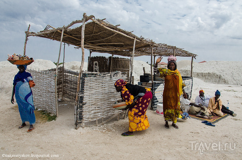 Розовое озеро Сенегала / Фото из Сенегала