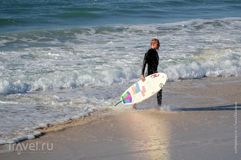 Волна на пляже Казуарина / Австралия