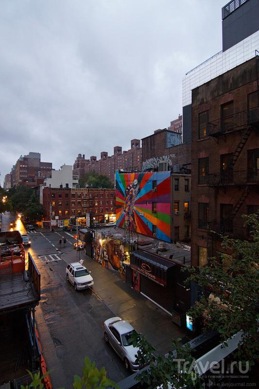 Нью-Йорк: Хай-Лайн / Фото из США