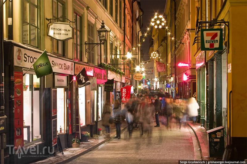 Старый рождественский Стокгольм / Фото из Швеции