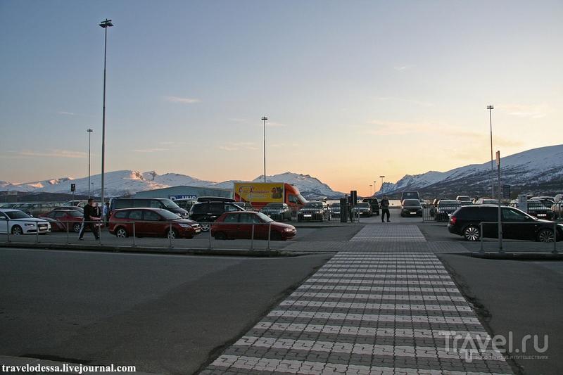 Аэропорт за полярным кругом / Норвегия