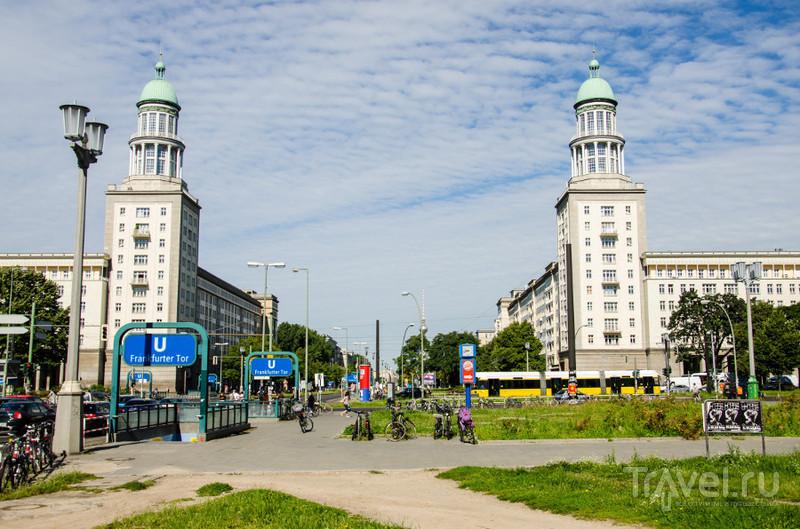 Karl-Marx-Allee в Берлине / Фото из Германии