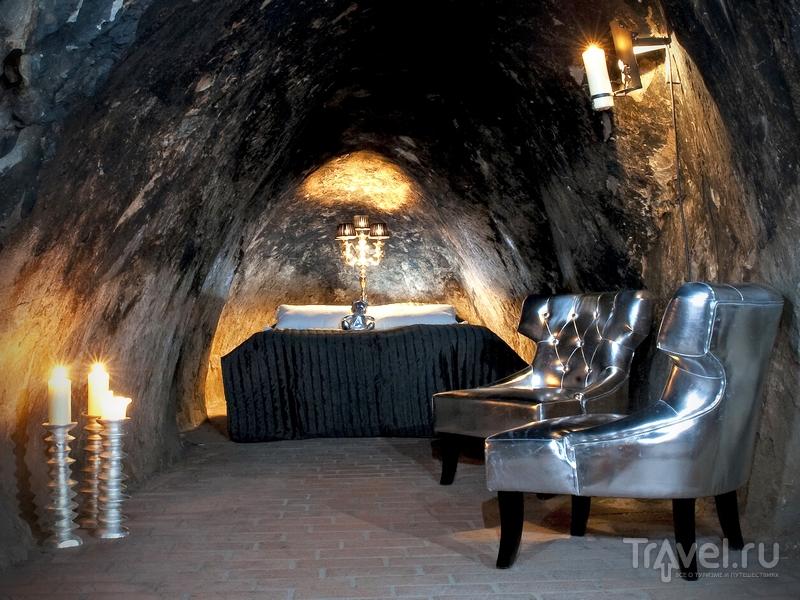 Подземная гостиница, оборудованная в шахте Sala Silvergruva, Швеция / Швеция