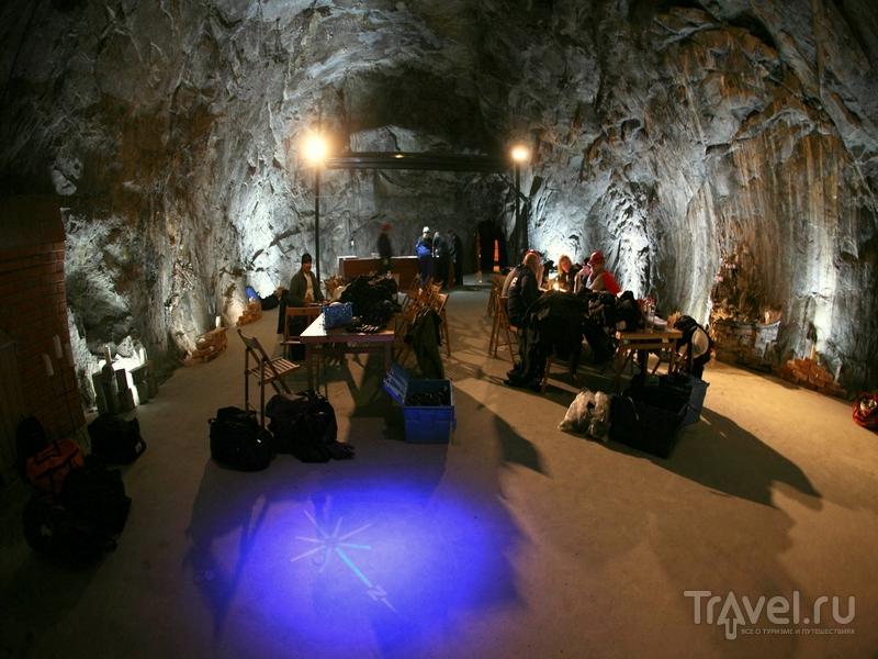 Комната отдыха в шведской шахте Sala Silvergruva / Швеция