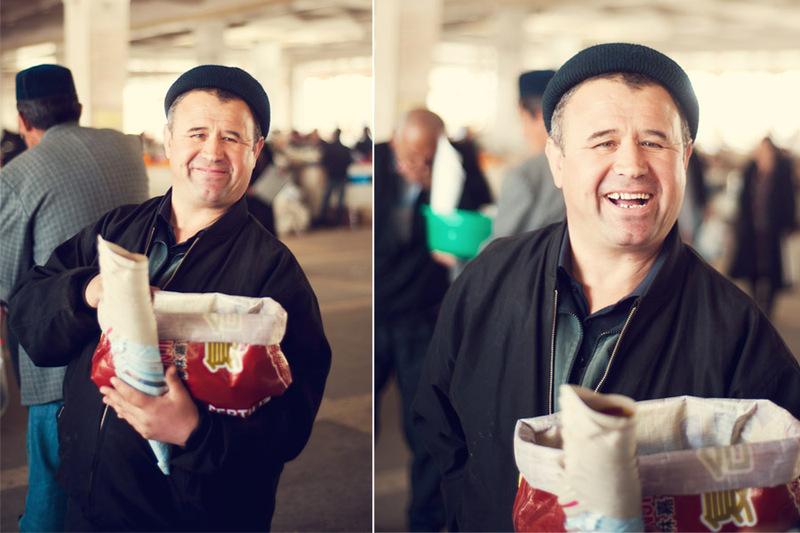 На Сиабском базаре в Самарканде / Фото из Узбекистана