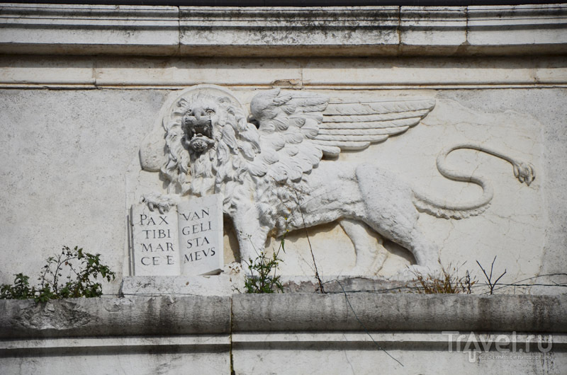 Венецианский лев на стенах Брешии / Фото из Италии