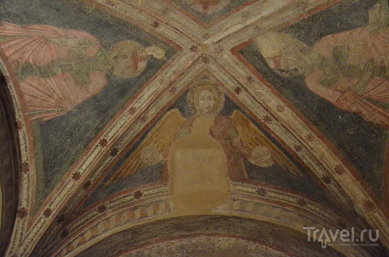 Роспись старом Домском соборе / Фото из Италии