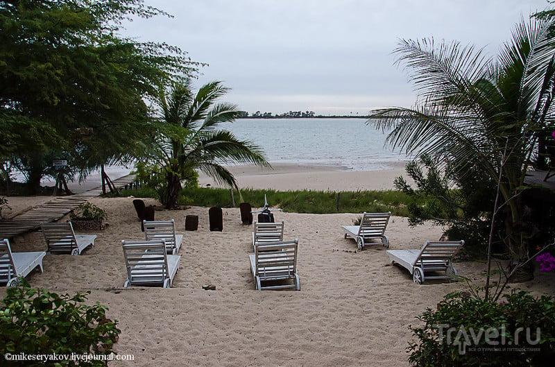 В отеле Ocean et Savane в Сенегале / Фото из Сенегала
