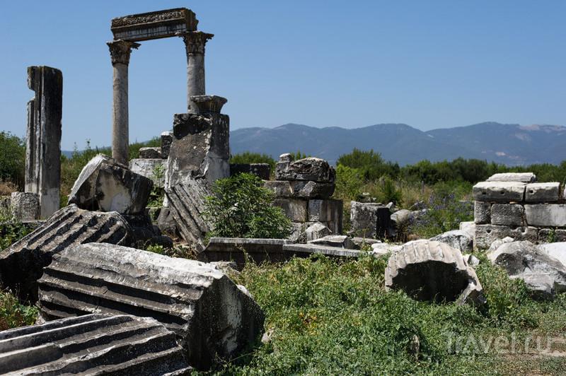 Эллинистическое святилище Афродиты в Афродисиасе / Фото из Турции