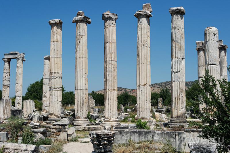 Руины храма Афродиты в Афродисиасе / Фото из Турции