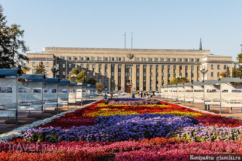 Дом Советов (Здание Правительства Иркутской области) / Фото из России