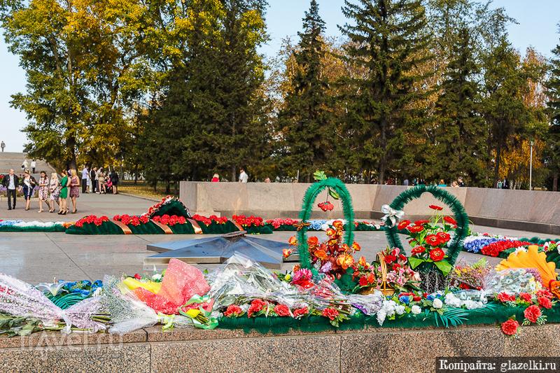 Вечный огонь в Иркутске / Фото из России