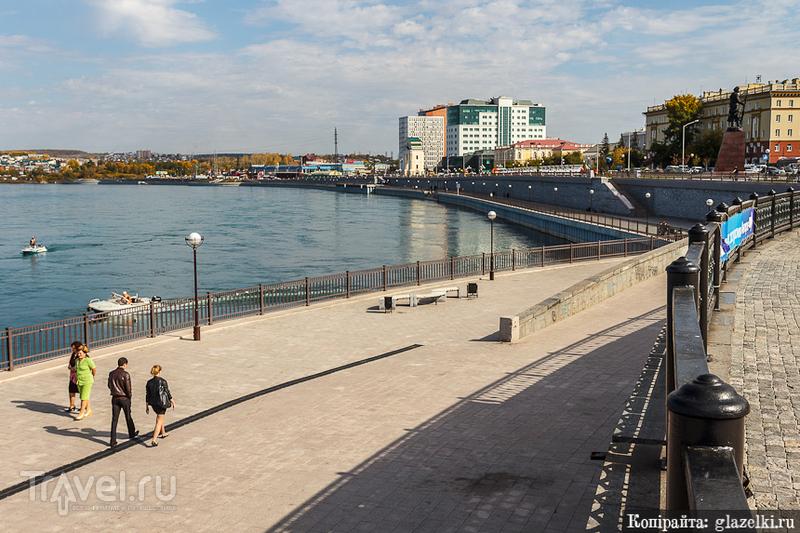 Набережная Ангары / Фото из России