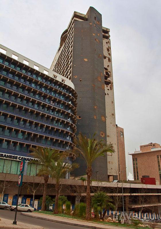 Бывшее здание Holiday Inn в Бейруте / Фото из Ливана