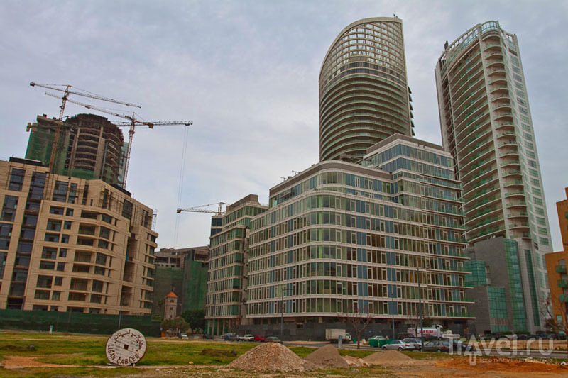 Район Downtown в Бейруте / Фото из Ливана